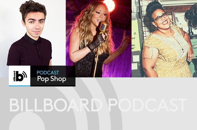 Pop Shop Podcast Featuring: Nathan Sykes, Mariah Carey and Brittany Howard