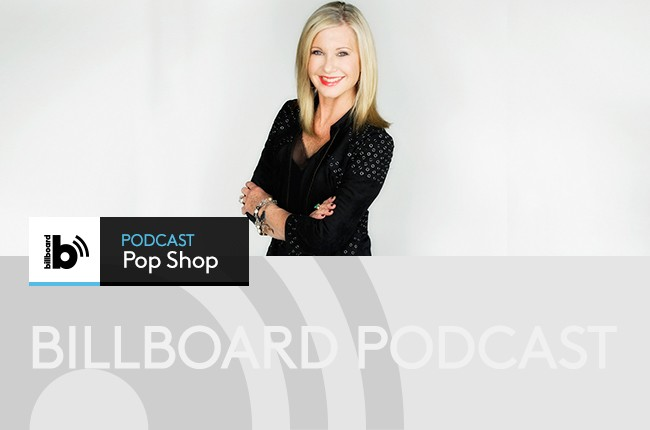 Pop Shop Podcast Olivia Newton-John