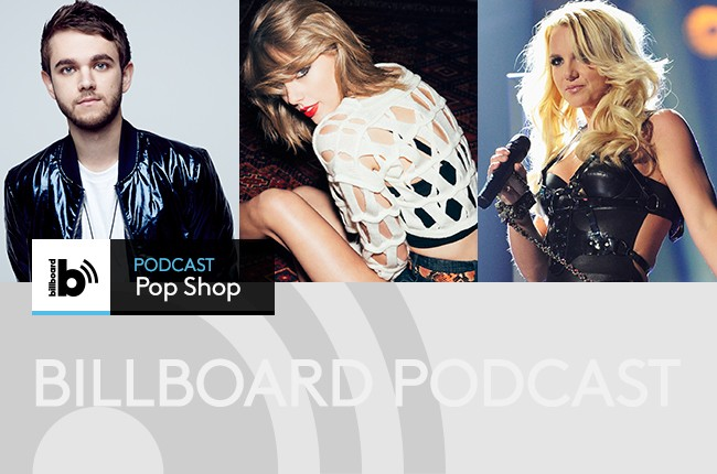 Pop Shop Podcast featuring: Zedd, Taylor Swift and Britney Spears