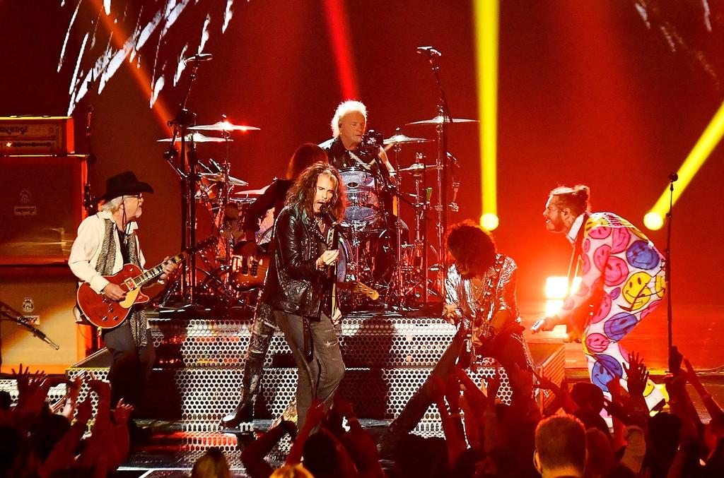 Aerosmith and Post Malone