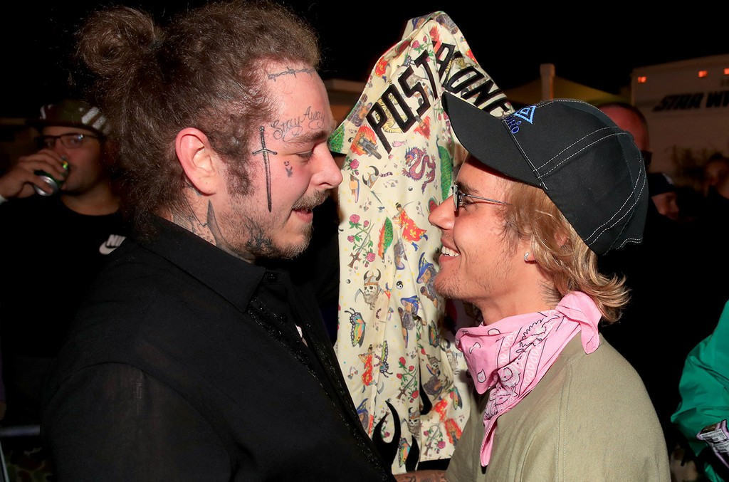 Post Malone and Justin Bieber