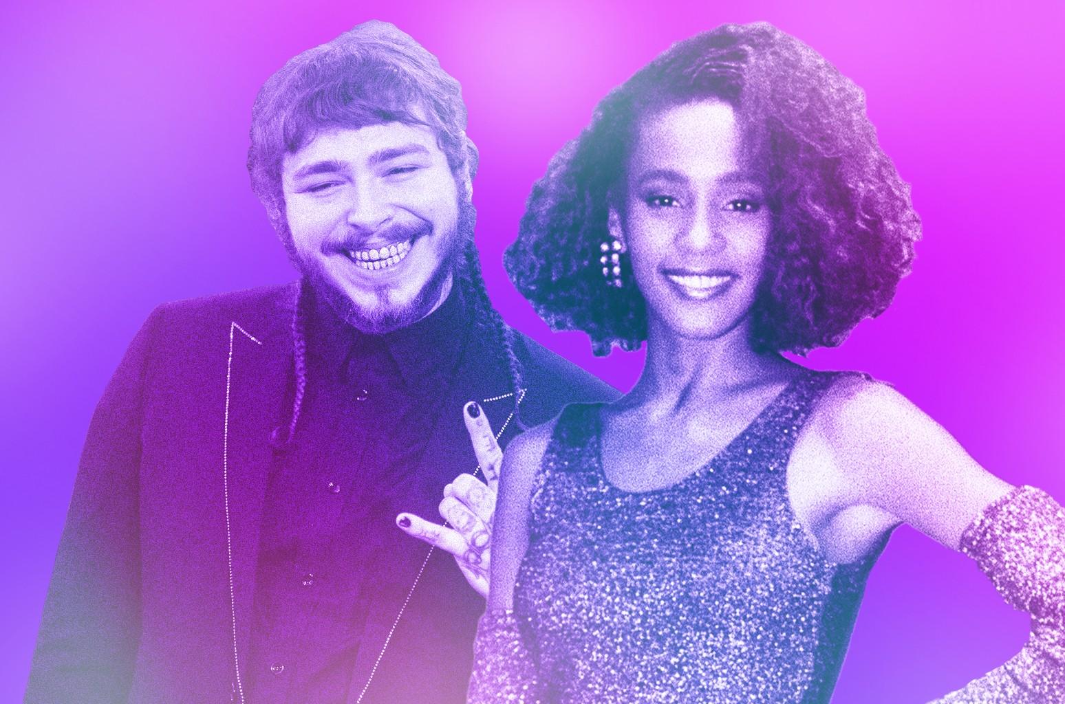 Post Malone Whitney Houston