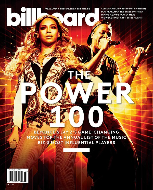Billboard Power 100 Cover 2014: Beyonce and Jay Z