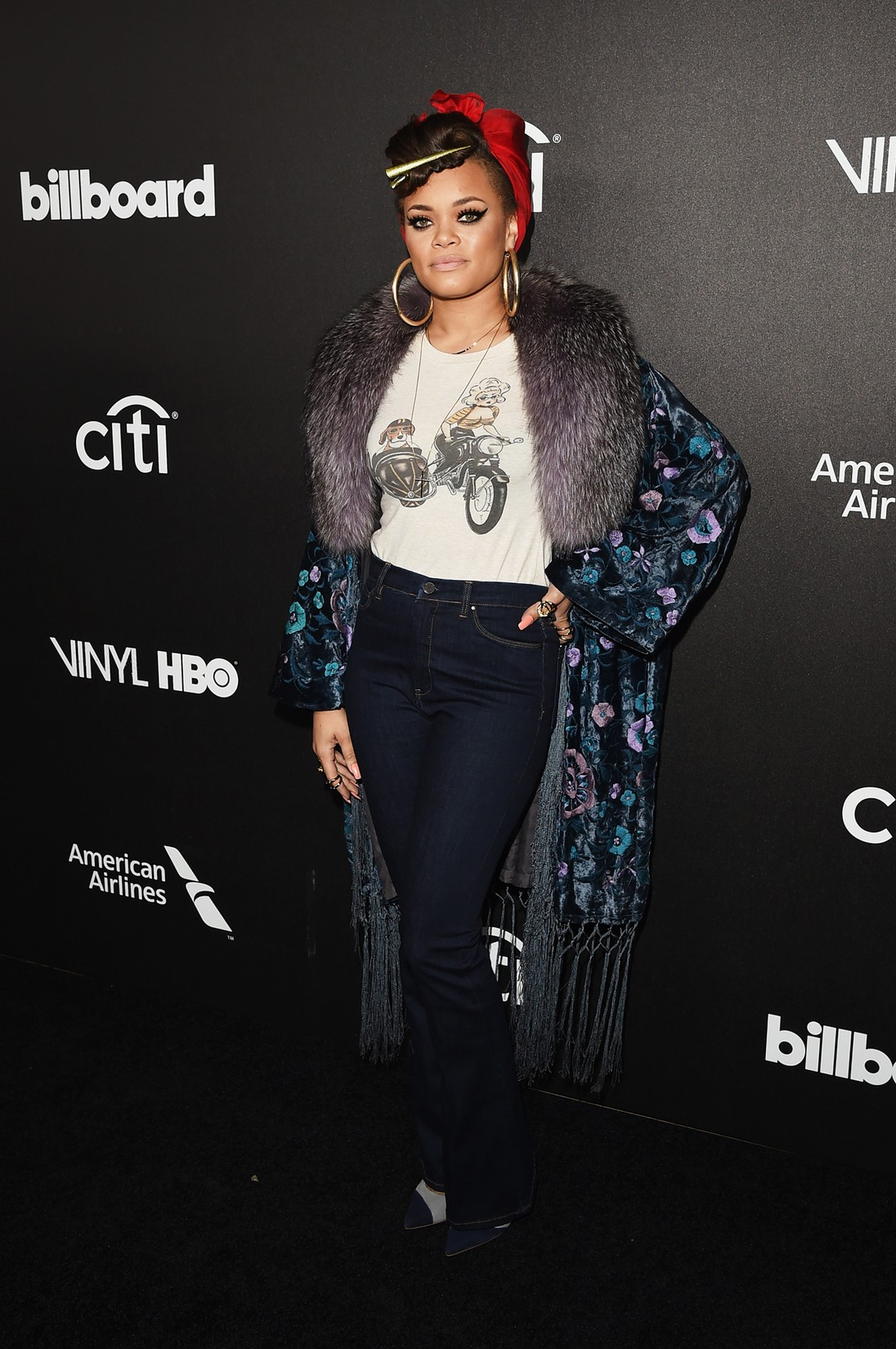 Andra Day attends 2016 Billboard Power 100