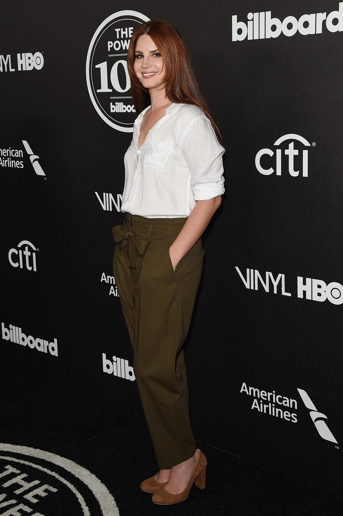 Lana Del Rey attends 2016 Billboard Power 100