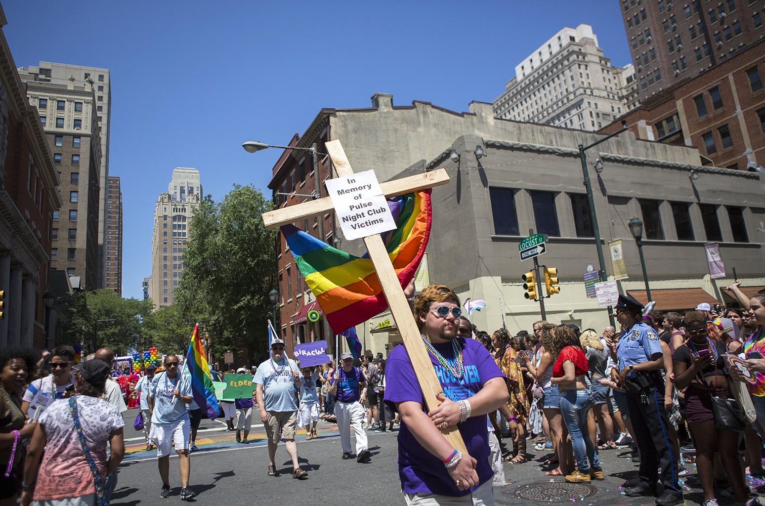 Gay Pride Parade in Philadelphia
