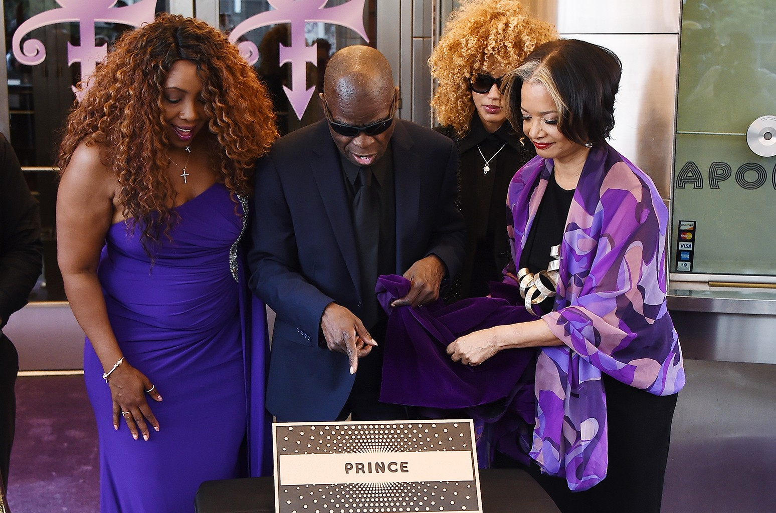 Prince's induction into the Apollo Walk Of Fame