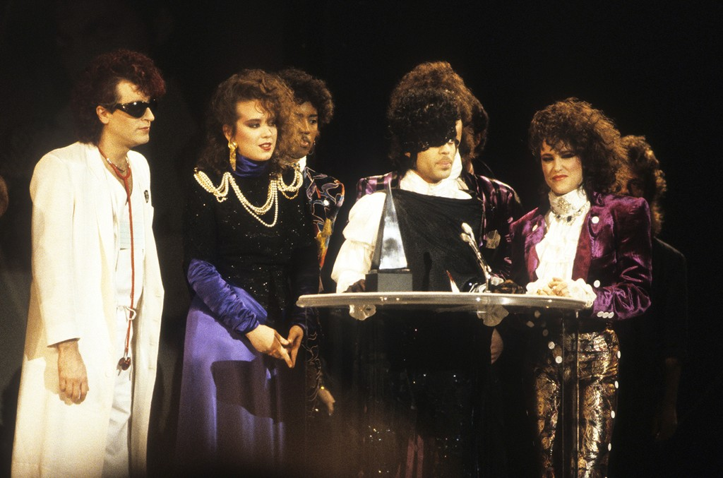 Prince and the Revolution at the 1985 American Music Awards