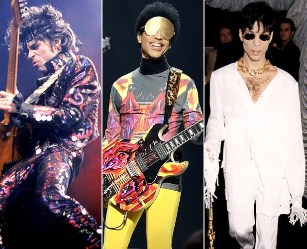 Prince's Fashion Evolution