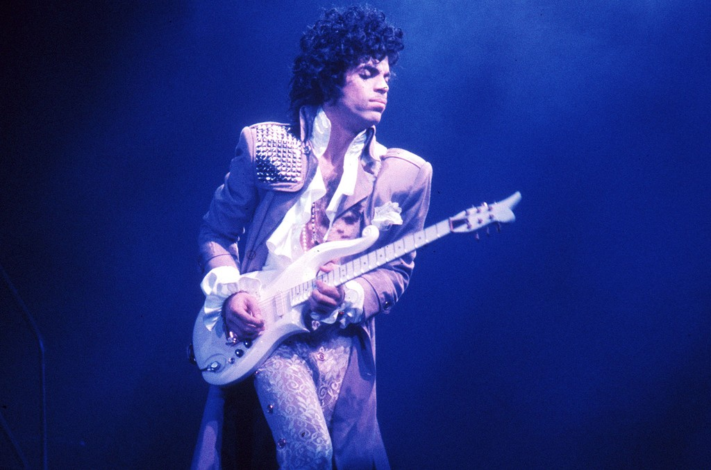 Prince's Custom Guitar From the 1980s Brings Big Dollars at Auction