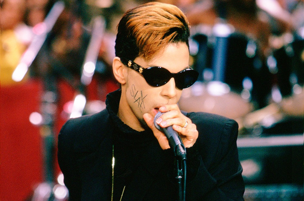 "Prince on NBC News ""Today"" in 1996."