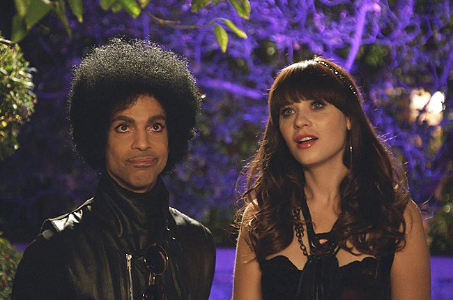 Prince Goes 'New Girl'