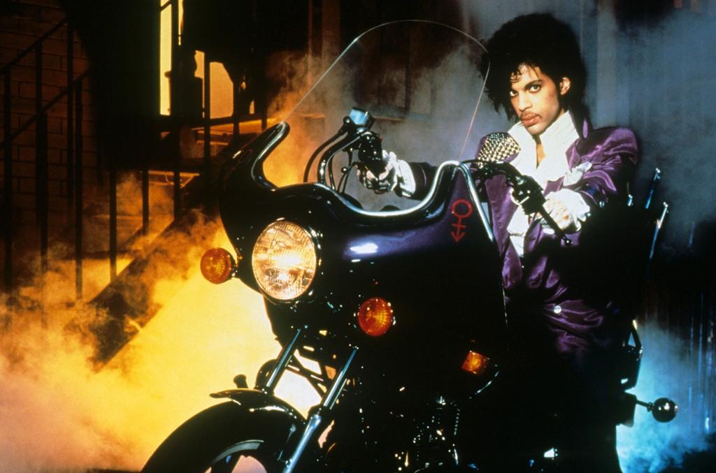 "Prince in ""Purple Rain"" in 1984."