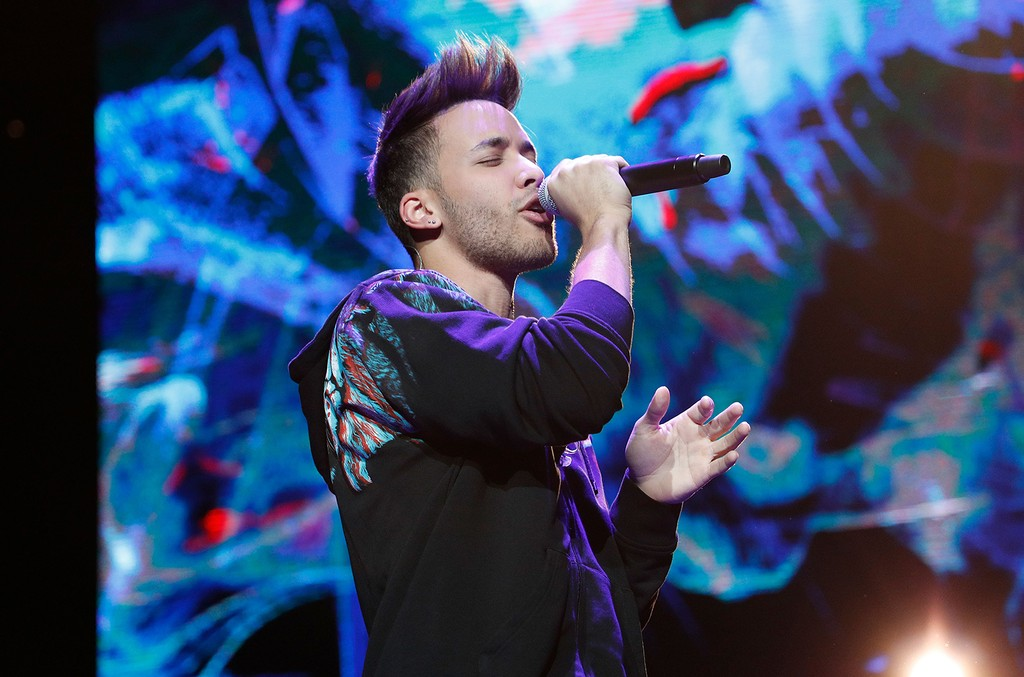 Prince Royce performs during Mega 96.3's Calibash 2017 at Staples Center on Jan. 21, 2017 in Los Angeles.