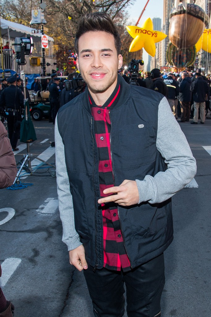 prince royce, Macy's Thanksgiving Day Parade