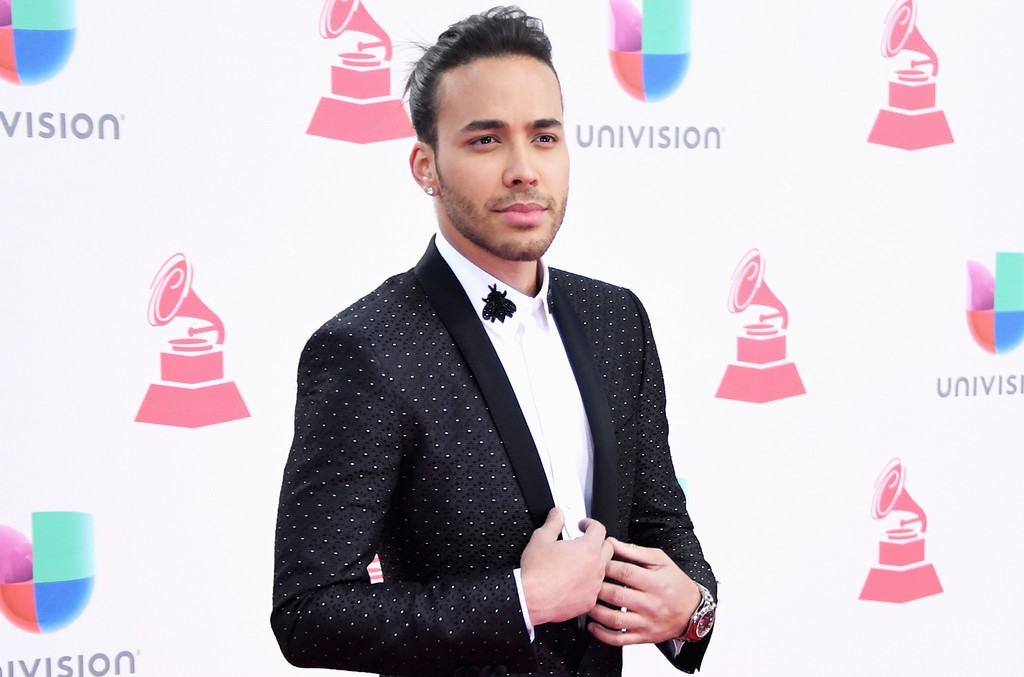 Prince Royce attends The 17th Annual Latin Grammy Awards