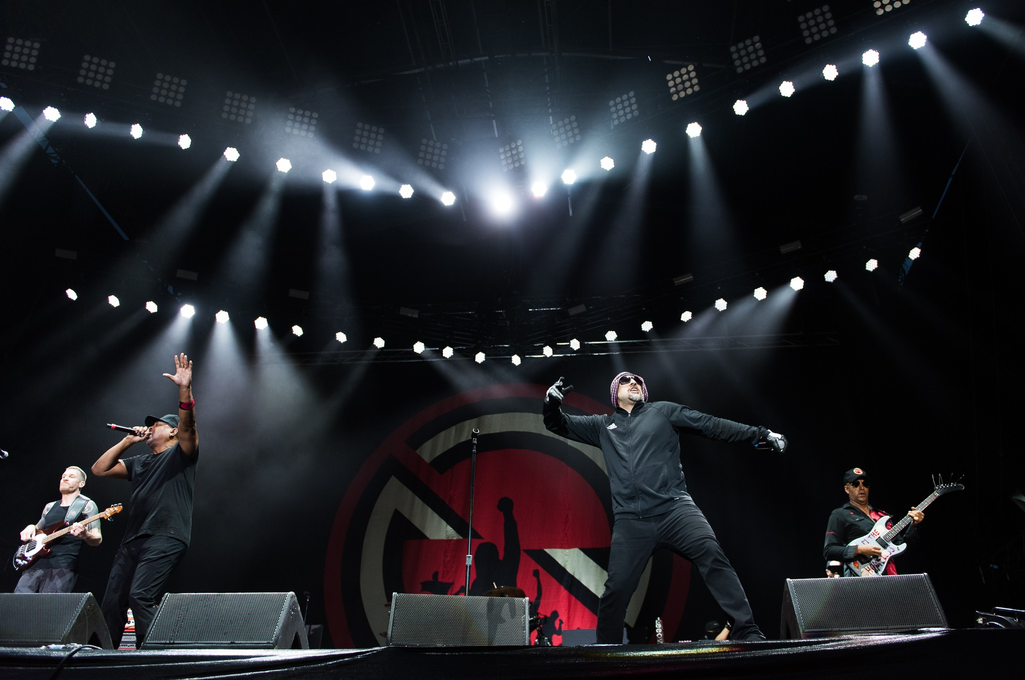 Prophets of Rage at 2018 Download Festival Australia