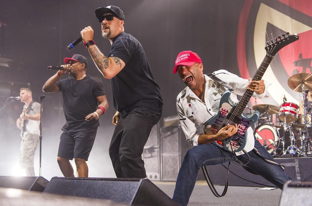 Prophets of Rage perform in 2016