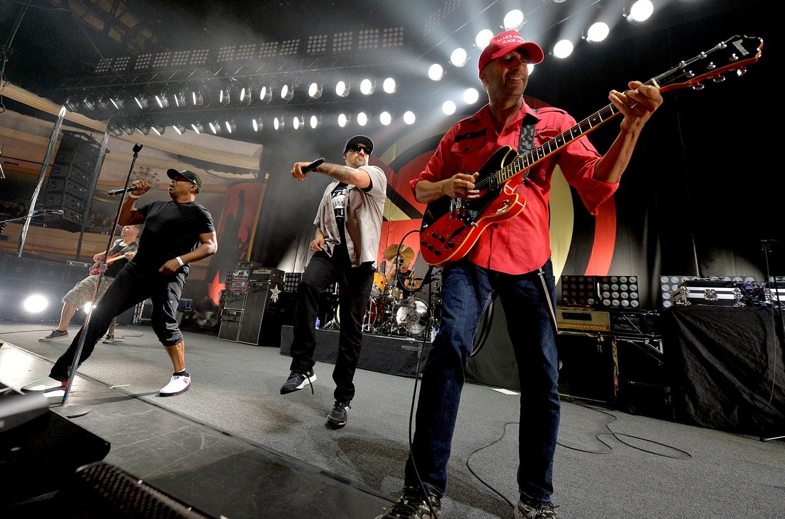 Prophets of Rage perform at Hollywood Palladium