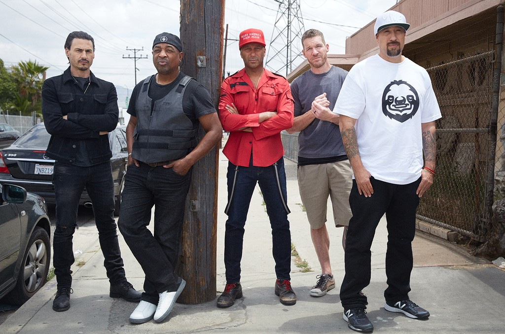 Prophets of Rage photographed in 2016