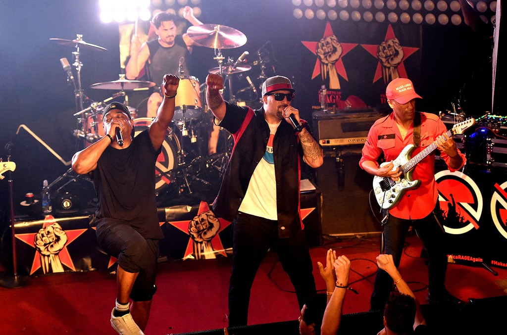 Prophets of Rage perform at Whisky a Go Go