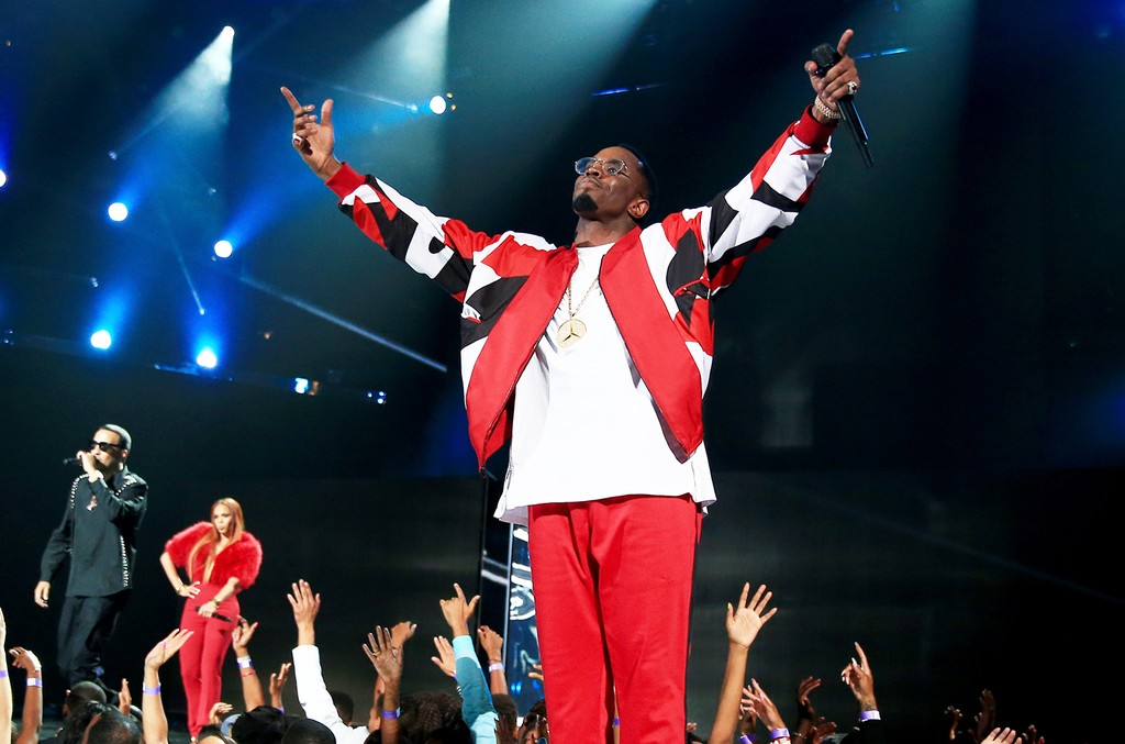 Puff Daddy performs onstage during the 2015 BET Awards
