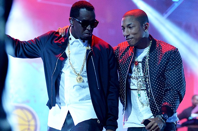 Sean Combs and Pharrell Williams