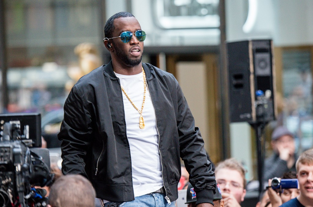 Puff Daddy performs on the Today Show