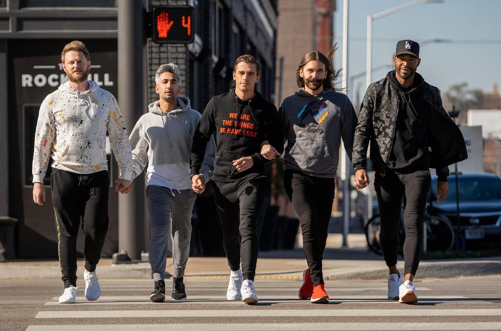 Bobby Berk, Tan France, Antoni Porowski, Jonathan Van Ness and Karamo Brown