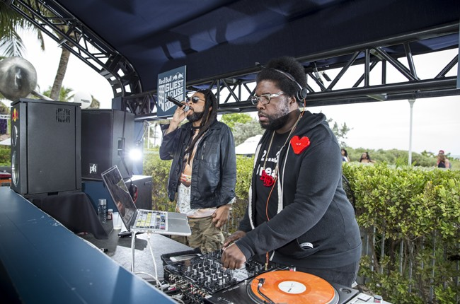 Quest Love performs at Red Bull Guest House in Miami