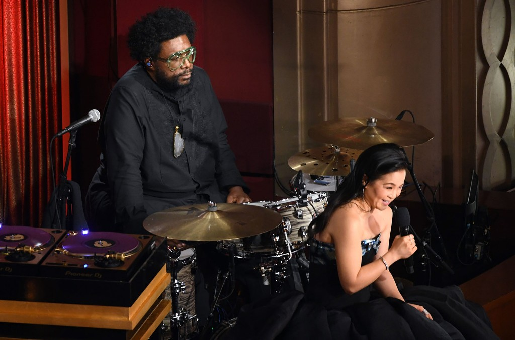 Questlove and Kelly Marie Tran