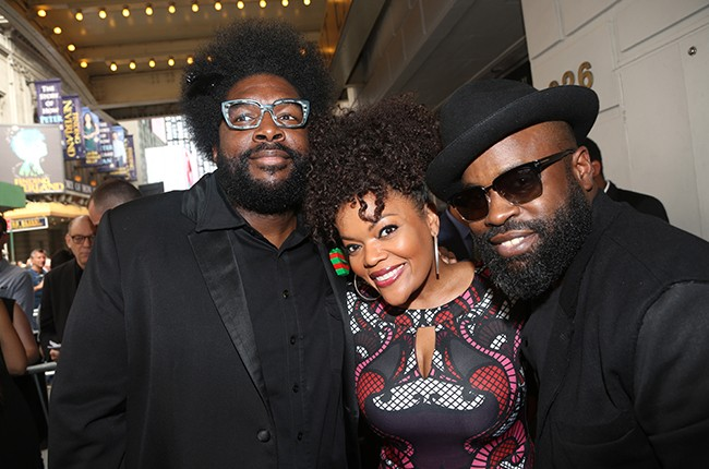 Questlove, Yvette Nicole Brown and Black Thought 2015