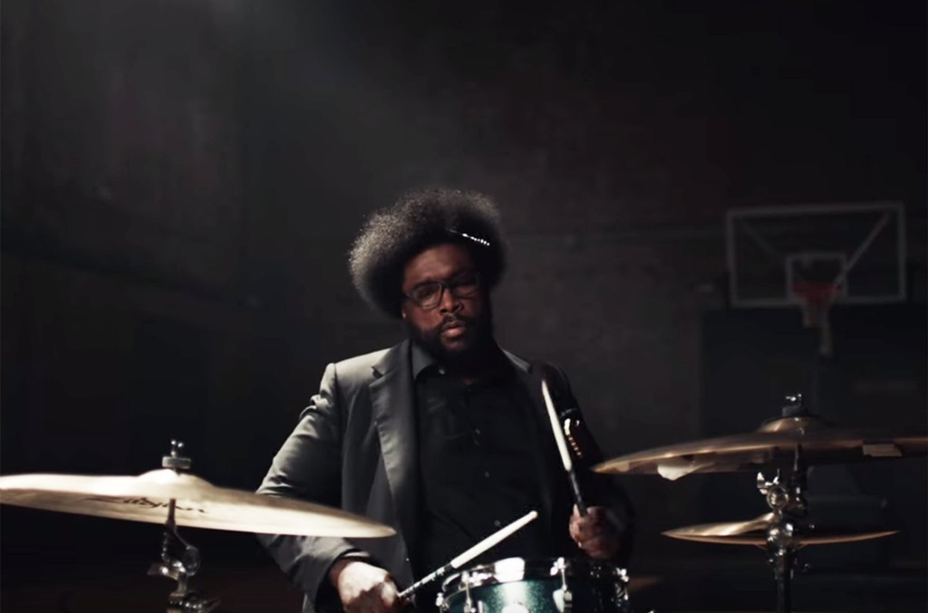 Questlove in a commercial for Nike Basketball.