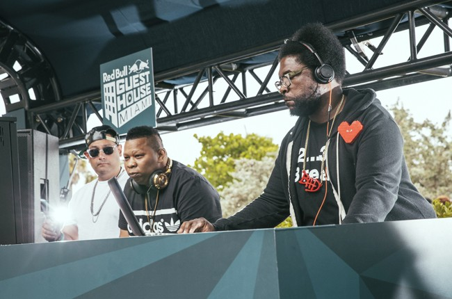 Questlove performs at Red Bull Guest House in Miami