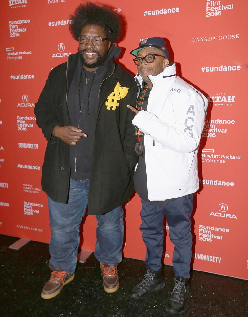 Questlove and Spike Lee