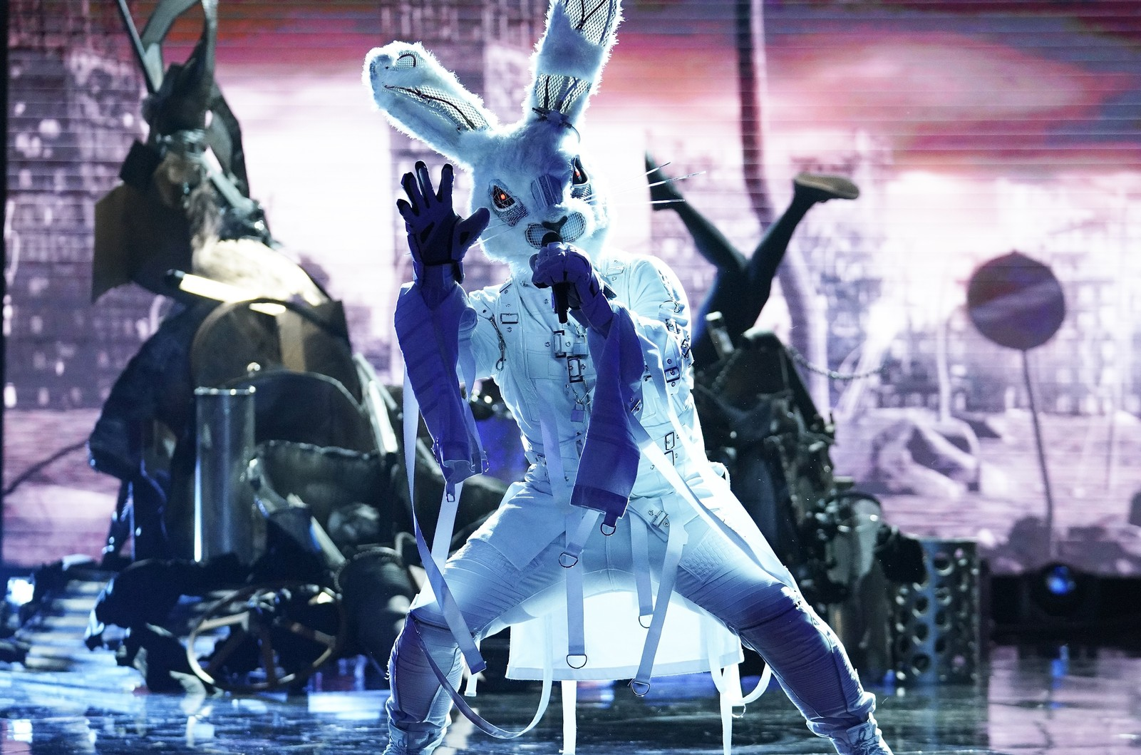 Rabbit in 'The Masked Singer'