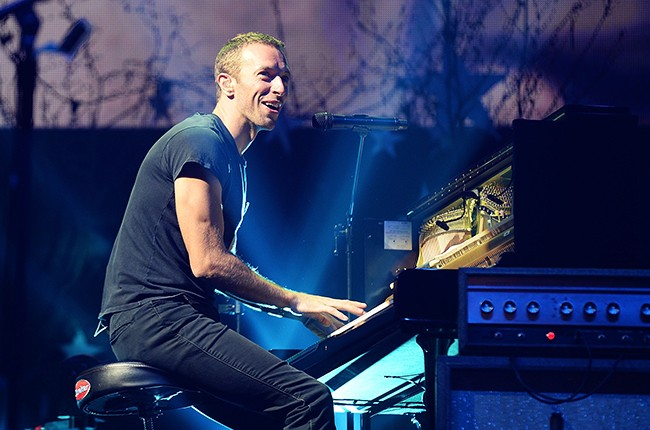 Coldplay performs live at Radio 1's Big Weekend