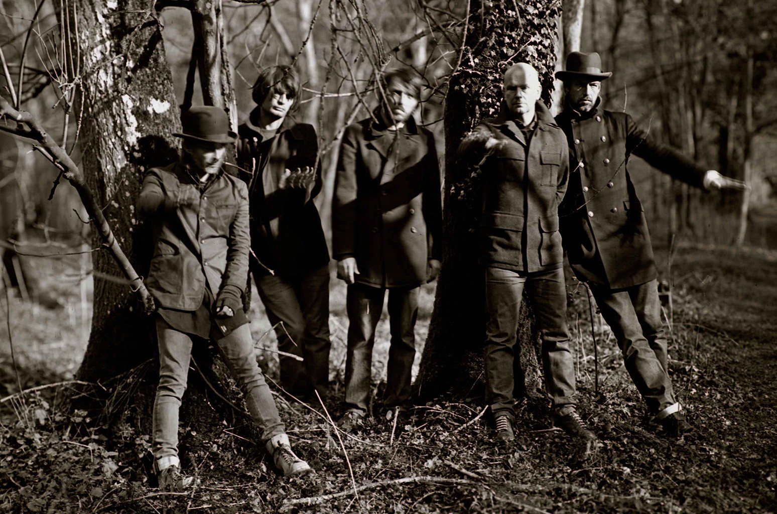 Radiohead photographed in 2011.