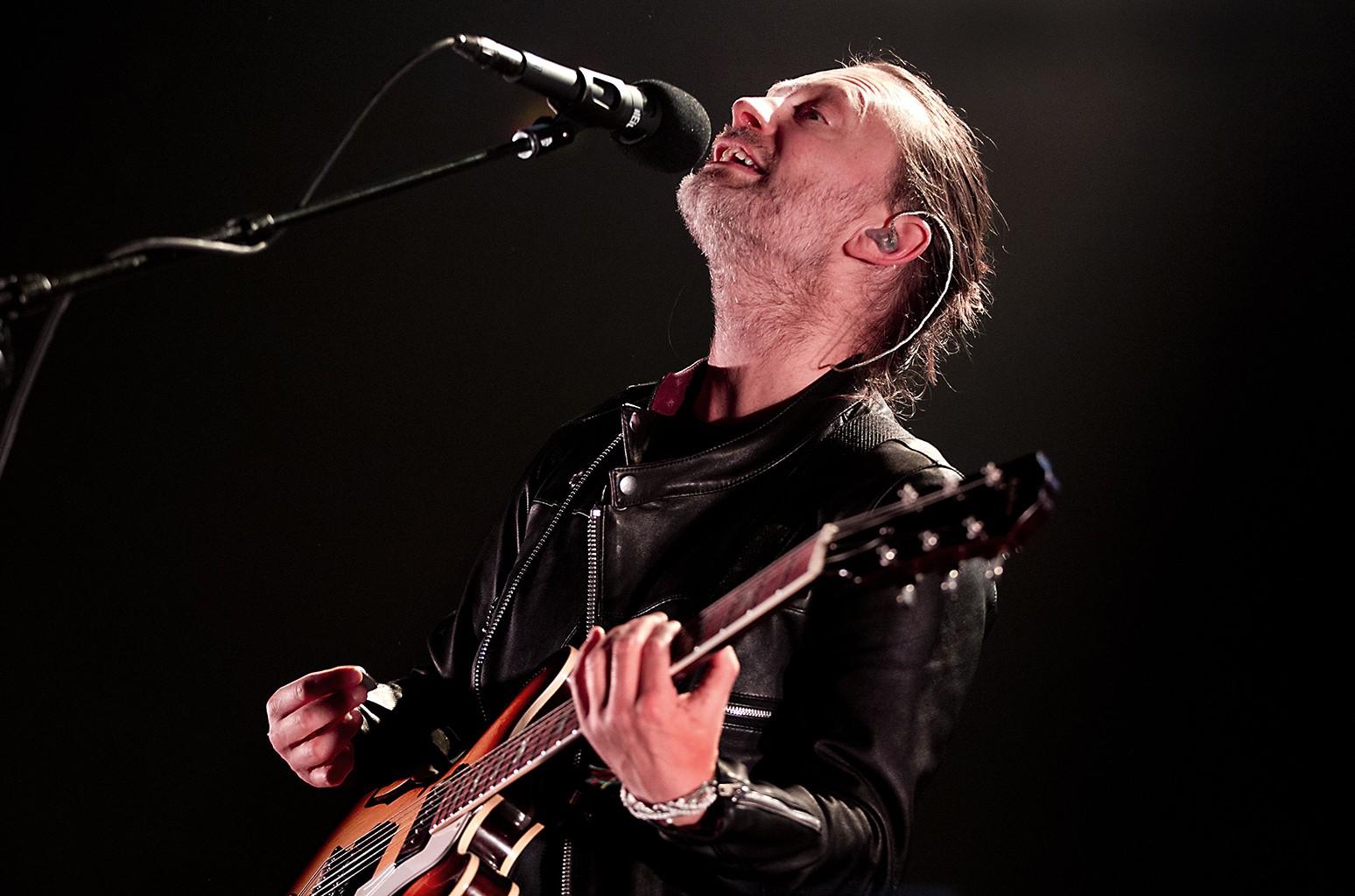Radiohead perform in Amsterdam