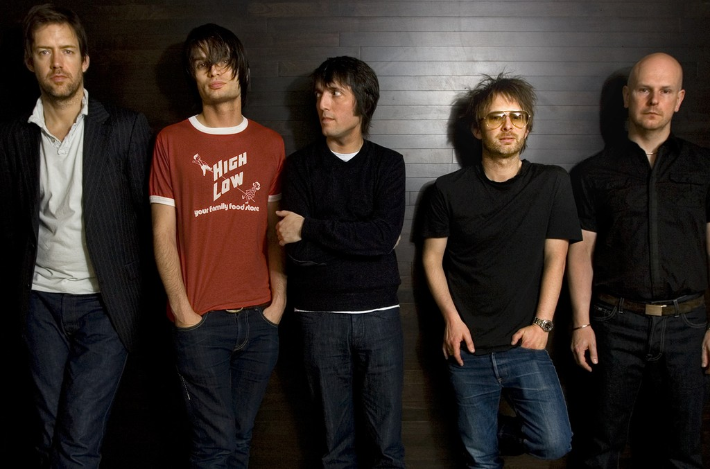 Radiohead photographed in 2008