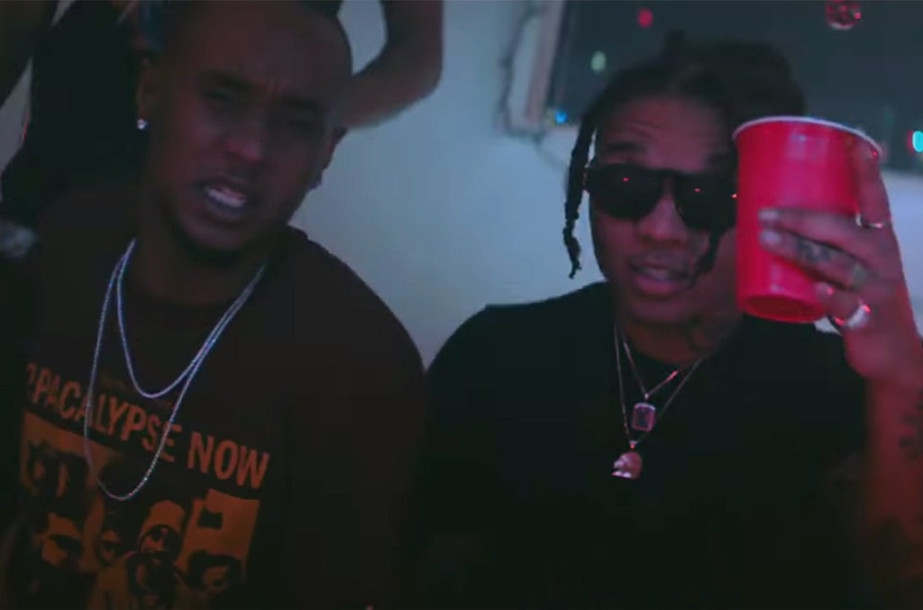 "Rae Sremmurd in the video for ""Real Chill"""