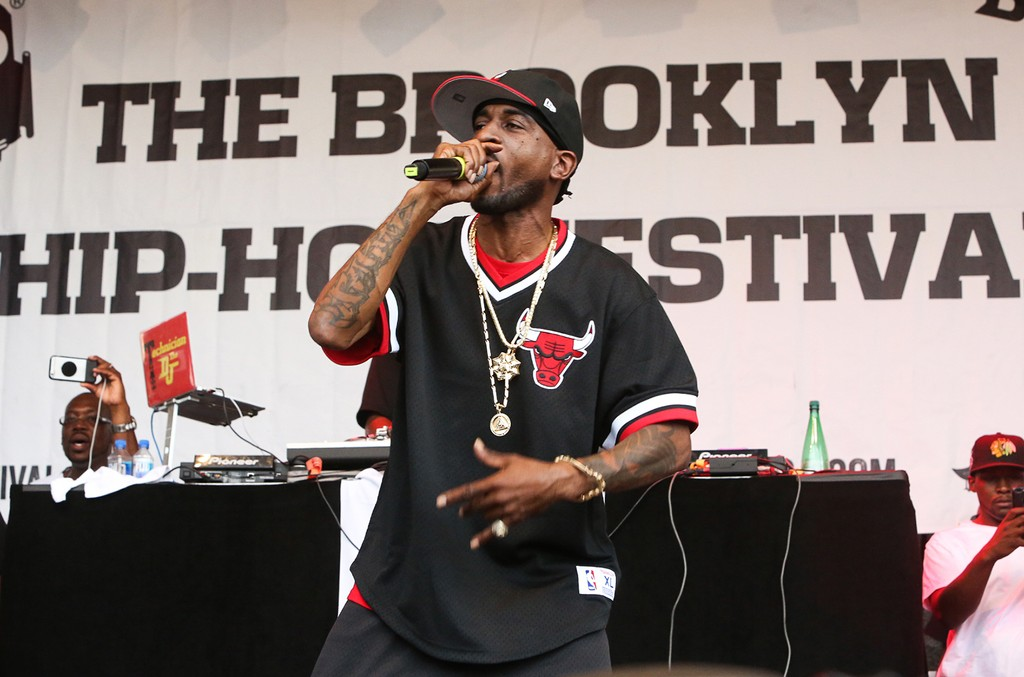 Rakim performs during the 13th annual Brooklyn Hip-Hop Festival on July 15, 2017.