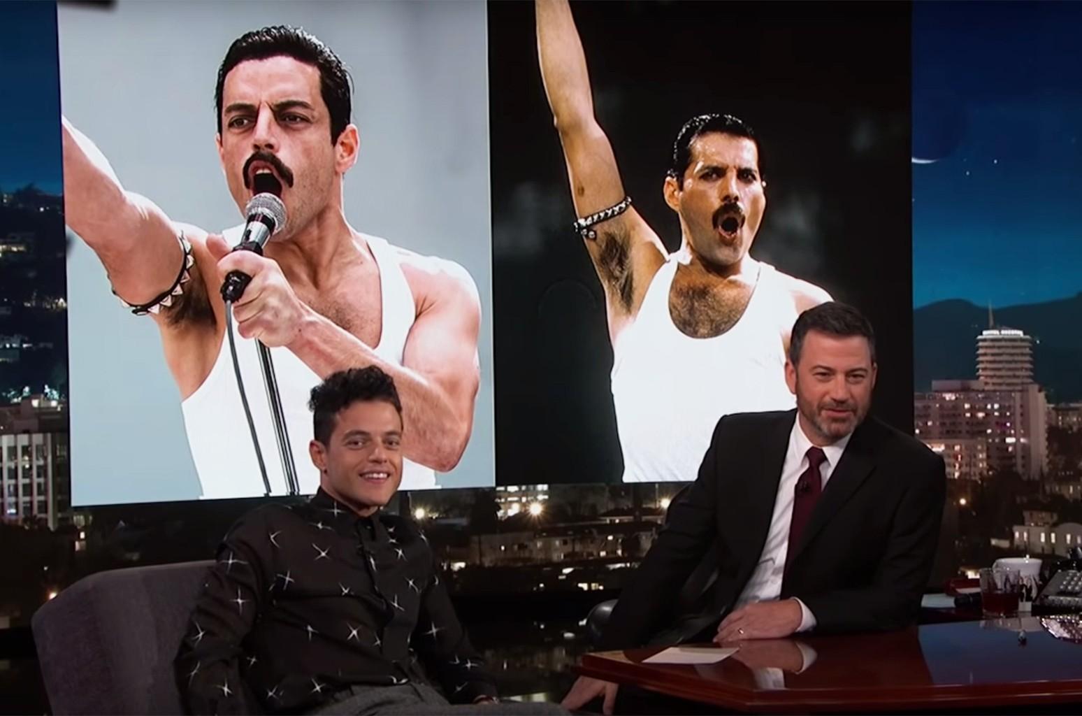 Rami Malek Jimmy Kimmel