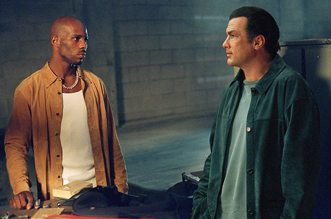 DMX and Steven Seagal in Exit Wounds (2001)