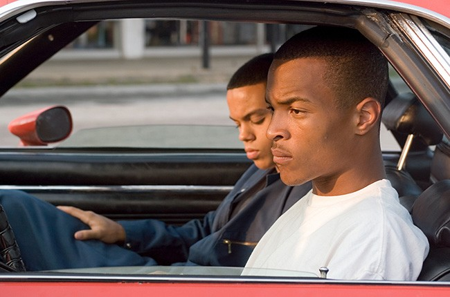 Evan Ross and T.I. in ATL (2006).