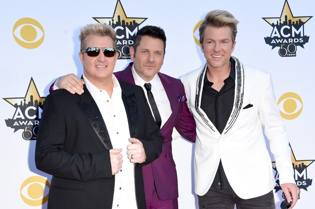 Rascal Flatts attend the 50th Academy Of Country Music Awards