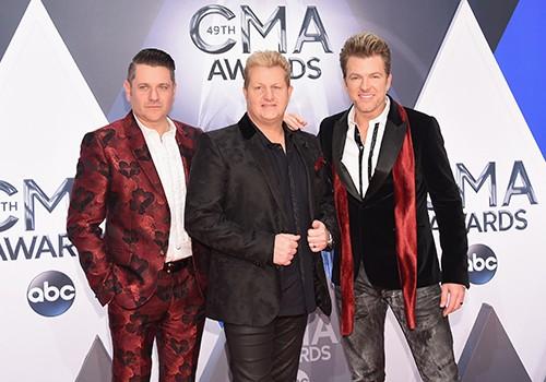 Rascal Flatts attend the 49th annual CMA Awards