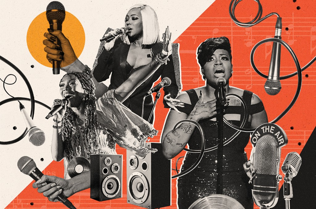 Brandy, Monica and Fantasia