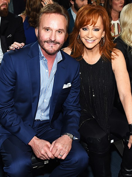 Reba McEntire and Narvel Blackstock divorce in 2015 after 26 years of marriage (photographed in April 2014).