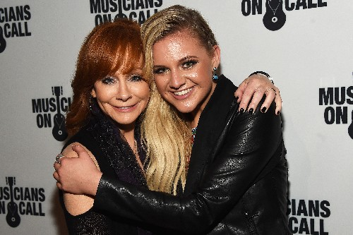 Reba McEntire and Kelsea Ballerini attend the Musicians On Call Rock The Room Tour Kickoff Party